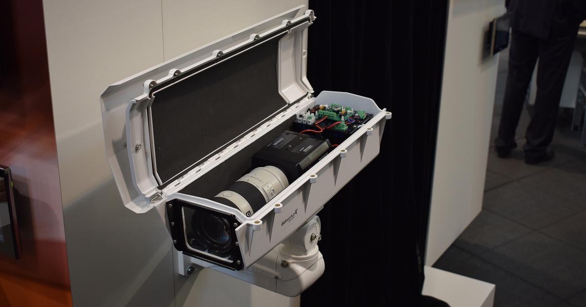 CCTV MAG - SONY SNC-VB770