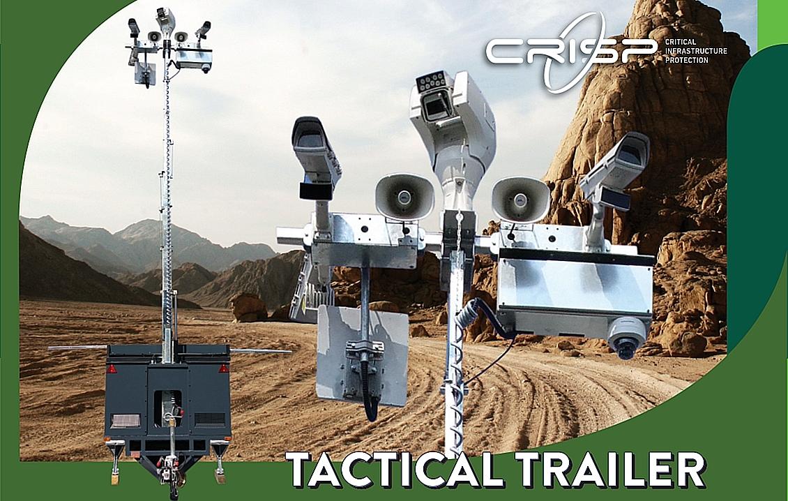 CCTV MAG - CRISP TECHNOLOGY - TACTICAL TRAILER