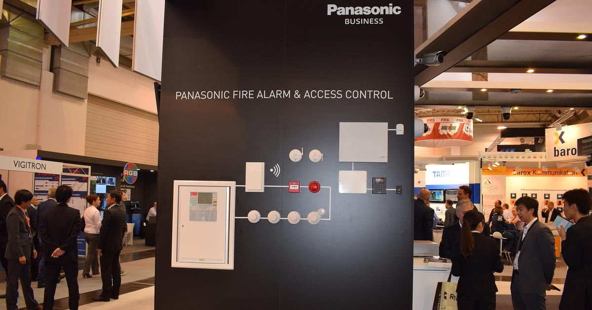 CCTV MAG - Panasonic's fire and access