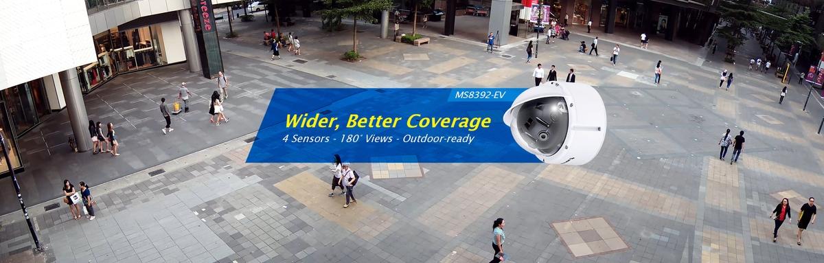 CCTV MAG - Vivotek new multi sensor IP CCTV dome