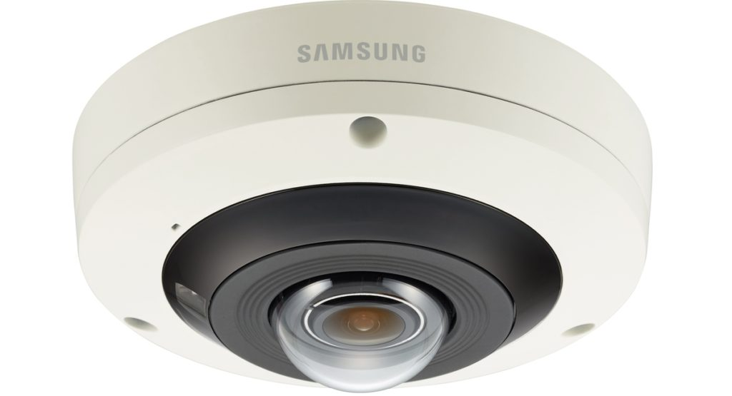 CCTV MAG - PNF-9010R - the 4K 360° IP CCTV camera from Hanwha