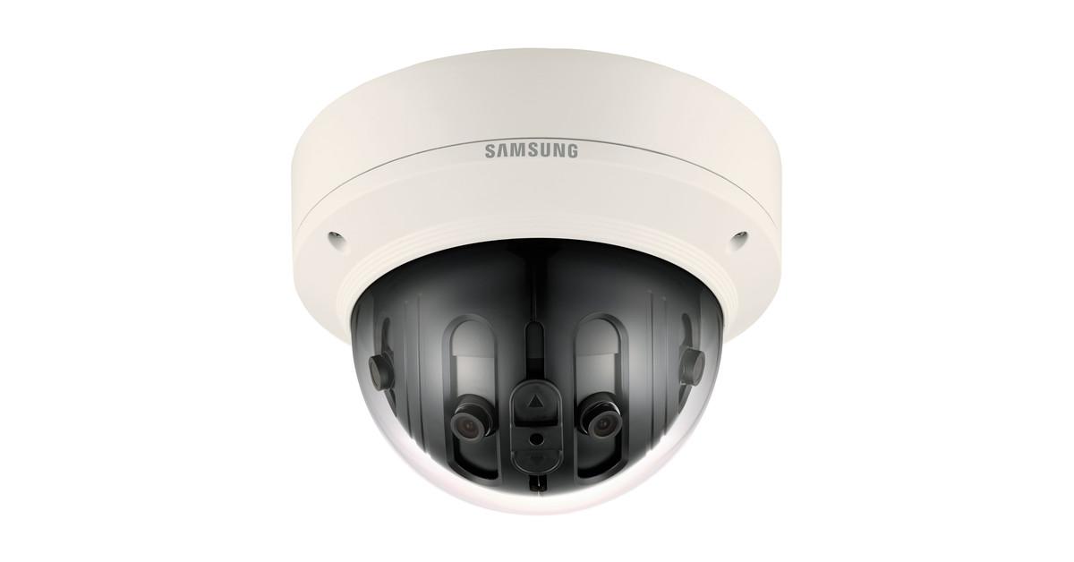 CCTV MAG - Samsung/Hanwha PNM-9020V IP CCTV panoramic camera