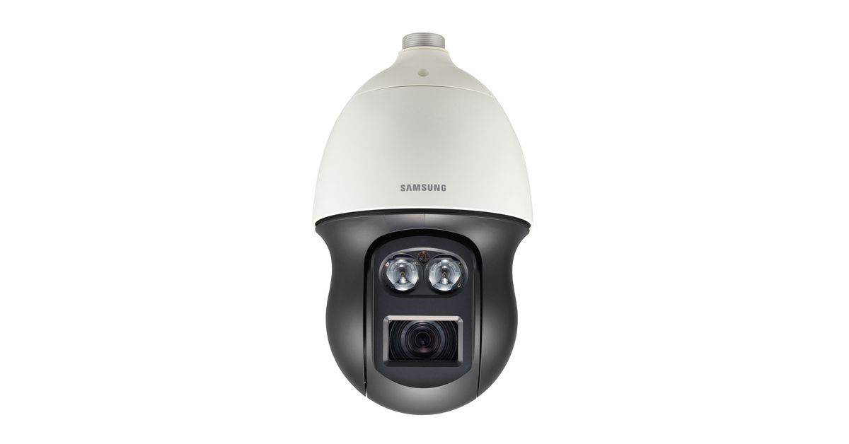 CCTV MAG - new Hanwha Samsung 4K PTZ dome ( IP CCTV )