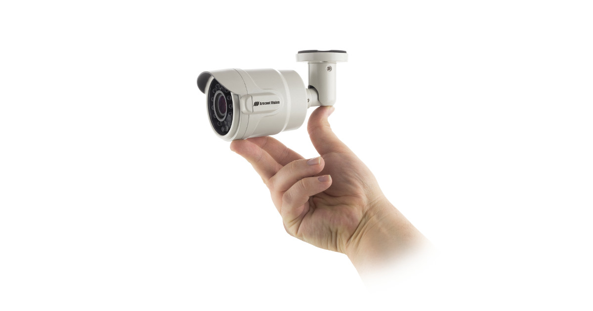 CCTV MAG - ArecontVision new micro bullet IP CCTV line