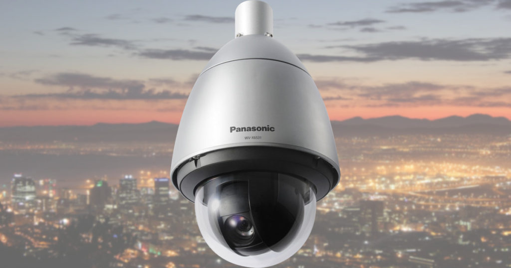 CCTV MAG - Panasonic WV-X6531N IP CCTV camera