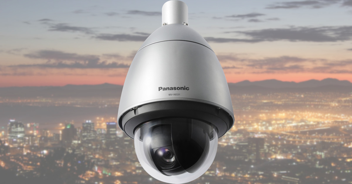CCTV MAG - Panasonic WV-X6531N IP CCTV camera