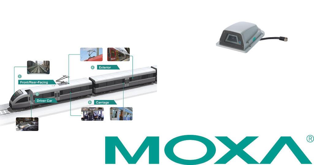 CCTV MAG - Moxa train IP CCTV camera