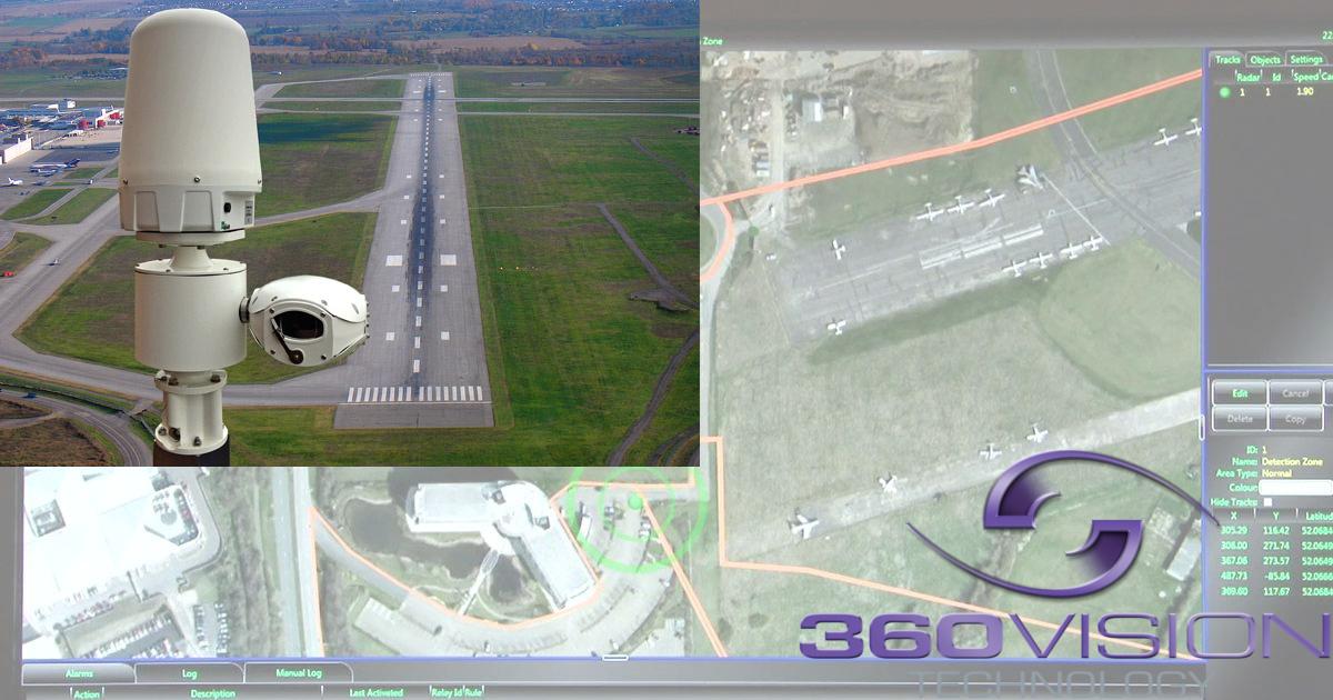 CCTV MAG - 360 Vision CCTV radar