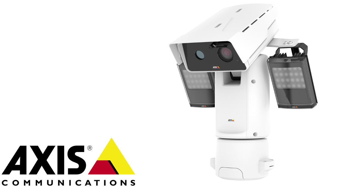 CCTV MAG - new Axis bispectral network cameras