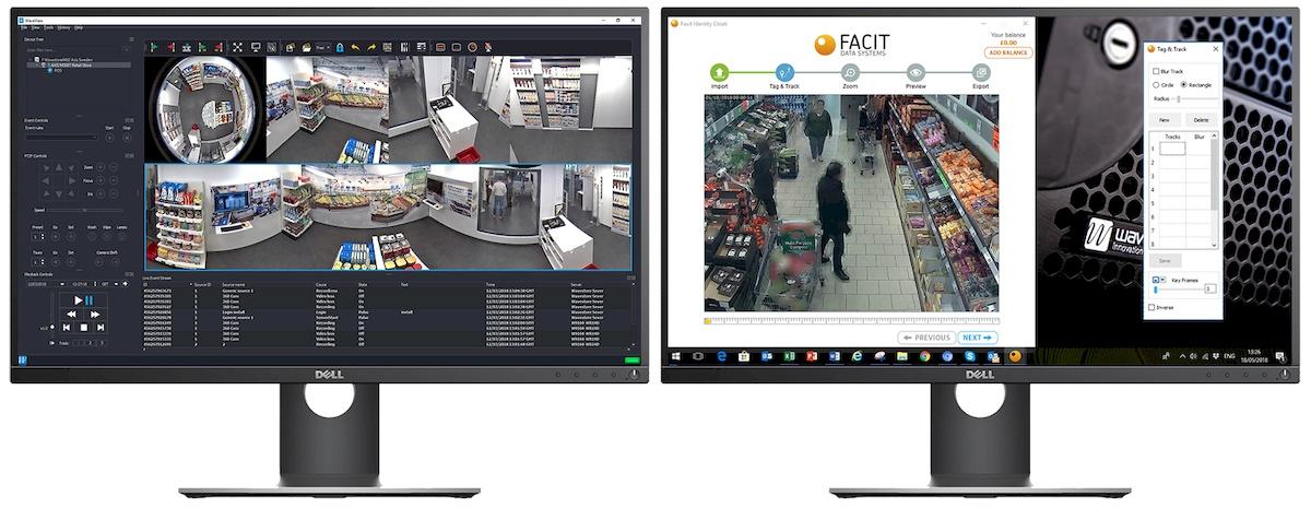 CCTV MAG - Wavestore FACIT cooperation