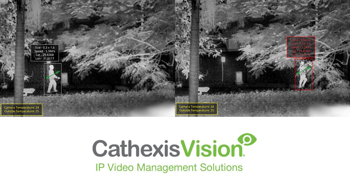 CCTV MAG - CathexisVision & SightLogix Thermal CCTV Cameras integration
