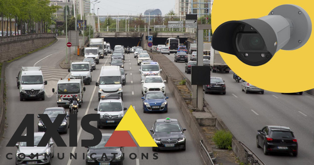 CCTV MAGAZINE - Axis ANPR camera